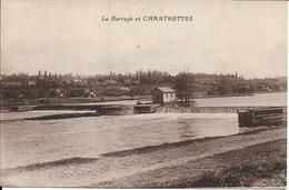 D77 - CHARTRETTES - LE BARRAGE ET CHARTRETTES - France