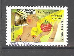 France Autoadhésif Oblitéré N°1455 (Le Goût) (cachet Rond) - France