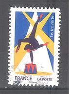 France Autoadhésif Oblitéré N°1480 (Les Arts Du Cirque) (cachet Rond) - France