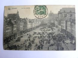 CPA BELGIQUE - LOUVAIN - Le Vieux Marché - Sonstige