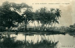 COTE D'IVOIRE  Grand Lahou La Lagune Cliché CFAO - Côte-d'Ivoire
