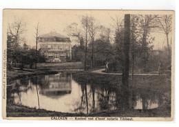 Kalken  CALCKEN  -  Kasteel Van D'heer Notaris Tibbaut. 1909 - Laarne