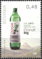 Mint Stamp Natural Mineral Water  Donat Mg 2018  From Slovenia - Slovénie