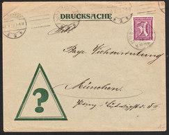 ALLEMAGNE Lettre De NURHBERG Du 31 Juillet 1922 - Germany