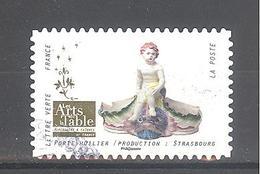 France Autoadhésif Oblitéré N°1532 (Les Arts De La Table) (cachet Rond) - France