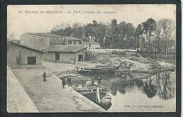 "34 LE PORT JUVENAL..MONTPELLIER   ( HERAULT ) ANIMEE..LA BARQUE "" ADELAIDE""  ..C3025 - France"