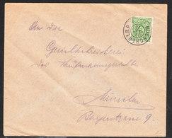 ALLEMAGNE Lettre De MUENCHEN Du 22 Mai 1923 - Germany