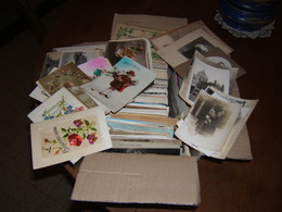 Plus De 700 CPA CPSM  Petits  Formats  Etrangères  Et Françaises  Dont Plus De 120  Fantaisies , Photos Et - Cartes Postales