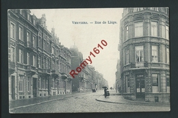 Verviers. Rue De Liège. Café C. Riese. - Verviers