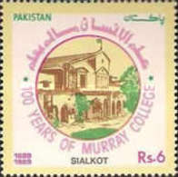 USED  STAMPS Pakistan - The 100th Anniversary Of Murray College, -1989 - Pakistan
