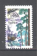 France Autoadhésif Oblitéré (Les Arbres - Pin Sylvestre) (cachet Rond) - France