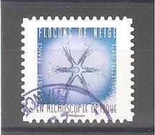 France Autoadhésif Oblitéré (Flocons De Neige N°3) (cachet Rond) - France