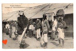 01090-LE-SRI-LANKA-Types Indiens-Village De TALAWAKOLE (Ceylan)-----------animée - Sri Lanka (Ceylon)