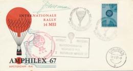 Nederland - 1967 - Ballonpost Amphilex Met Handtekening Boesman - Periode 1949-1980 (Juliana)