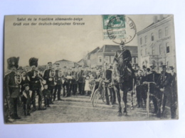 CPA BELGIQUE - Welkenraedt - Salut De La Frontière Allemande-belge - - Welkenraedt
