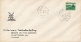 Nederland - 1962 - 6 Cent Polderlandschap Op Bol-FDC Zonder Adres - FDC