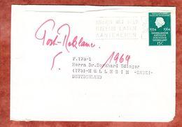 Praegeumschlag, EF Koenigin Juliana, MS Brieven Met Geld... S-Gravenhage, Nach Muellheim 1964 (68789) - Period 1949-1980 (Juliana)