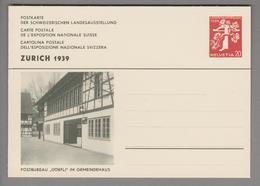 """Schweiz Ganzsache Landi 1939 Zu# 146-028 Ungebraucht Postbüro """"Dörfli"""" - Entiers Postaux"""