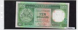 Banconota Hong Kong 10 Dollars UNC - Hong Kong