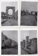 4 Photos Pompeii 1938 - Places