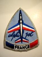 ECUSSON TISSUS PATCH ARMEE DE L'AIR ALPHA JET ETAT EXCELLENT - Airforce