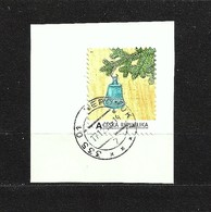 Czech Republic 2014 ⊙ 0266 Advent Time. Own Stamps. Blue Bell. Cutting, Briefstück - Used Stamps