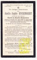 DP Amelie S. Ryckewaert / Demaziere ° Koksijde 1863 † Adinkerke De Panne 1913 - Devotion Images