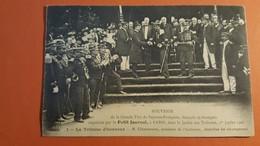 -Sapeurs Pompiers-La Tribune D'honneur-Mr Clemenceau- - Firemen