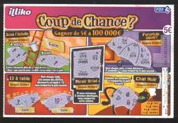 Grattage FDJ - FRANCAISE DES JEUX - COUP DE CHANCE - 56001 - Lottery Tickets