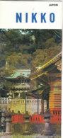 B1970 - Brochure GIAPPONE - JAPAN - NIKKO Ed.1967 - Dépliants Touristiques