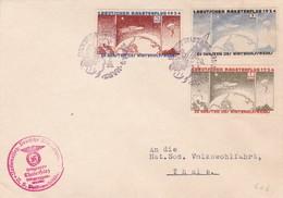 Lettre 1ère Expérience De Vol Par Fusée 1934 - Luftpost
