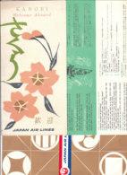 B1975 - Brochure AVIAZIONE - KANGEI JAPAN AIR LINES - Cadeaux Promotionnels