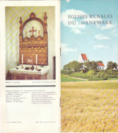 B1978 - Brochure DANMARK - DANIMARCA - EGLISES RURALES - CHIESE Anni '60/E.DE TVEJE MERLOSE/LYNDERUPGAARD/OSTERLARS - Dépliants Touristiques