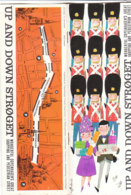 B1980 - Brochure DANIMARCA - DENMARK - UP AND DOWN STROGET - COPENAGHEN Anni '60/MAGAZINE DU NORD - Dépliants Touristiques