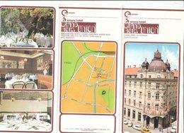 B1982 - Brochure SLOVENIA - LJUBLJANA - GEMONA GRAND HOTEL UNION 1984 - Dépliants Touristiques
