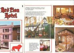 B1984 - Brochure REGNO UNITO - ENGLAND - RED LION HOTEL - SALISBURY - Dépliants Touristiques