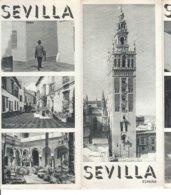 B2003 - Brochure SPAGNA - SEVILLA Anni '50/ECIJA/COLEGIO DE SAN MIGUEL/GIRALDA/ARRIO DE SANTA CRUZ - Dépliants Touristiques