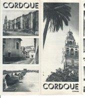 B2004 - Brochure SPAGNA - CORDOUE Anni '50/PLAZA DE CAPUCHINOS/MOSQUEE/PATIO DE LOS NARANJOS - Dépliants Touristiques