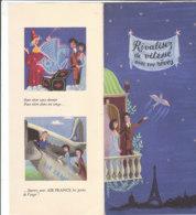 B2015 - AVIAZIONE - Brochure AIR FRANCE - AU PAYS DES MERVEILLES Illustration PEYNET Ed.1952 - Publicités