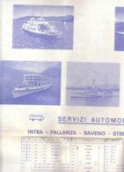 B2029 - NAVIGAZIONE LAGO MAGGIORE - ORARIO E TARIFFE 1978/NAVE HELVETIA/NAVE GENOVA/ALISCAFO FRECCIA DEL VERBANO - Europe
