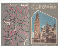 B2030 - Brochure CREMONA Ed.ENIT 1954/CREMA/CASALMAGGIORE/OSTIANO/RIVOLTA D'ADDA/CASTELLEONE/BORDOLANO CHIESE - Dépliants Touristiques