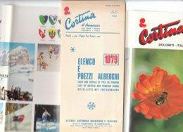 B2037 - Brochure BELLUNO - CORTINA D'AMPEZZO Ed. 1979/ALBERGHI/SPORT OLIMPIADI INVERNALI - Dépliants Touristiques