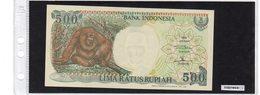 Banconota Indonesia 500 Rupiah - Indonésie