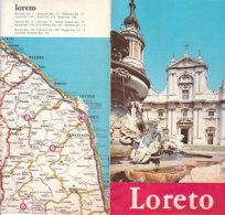 B2041 - Brochure ANCONA - LORETO Ed.1982 - Dépliants Touristiques