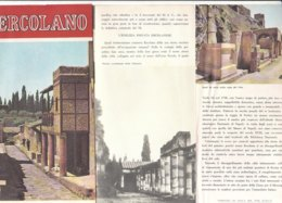 B2046 - Brochure NAPOLI - ERCOLANO Ed. Anni '80/ARCHEOLOGIA - Dépliants Touristiques