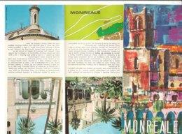 B2054 - Brochure PALERMO - MONREALE Ed. Anni '80 - Dépliants Turistici