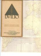 B2057 - NAUTICA Brochure NAVIGAZIONE GENERALE ITALIANA - NAVE DUILIO Anni '30/ M/N ORAZIO VIRGILIO - Dépliants Touristiques