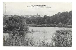 54/ MEURTHE Et MOSELLE...Environs De Nancy. LIVERDUN. La Moselle - Liverdun