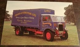 1937 Albion SPP557 5-ton Box Van ~ Swain's Of Stratton Ltd - Trucks, Vans &  Lorries