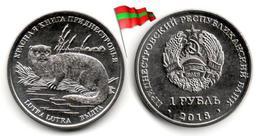 Transnistria - 1 Rouble 2018 (Red Book - Loutre - UNC - 50,000Ex.) - Moldova